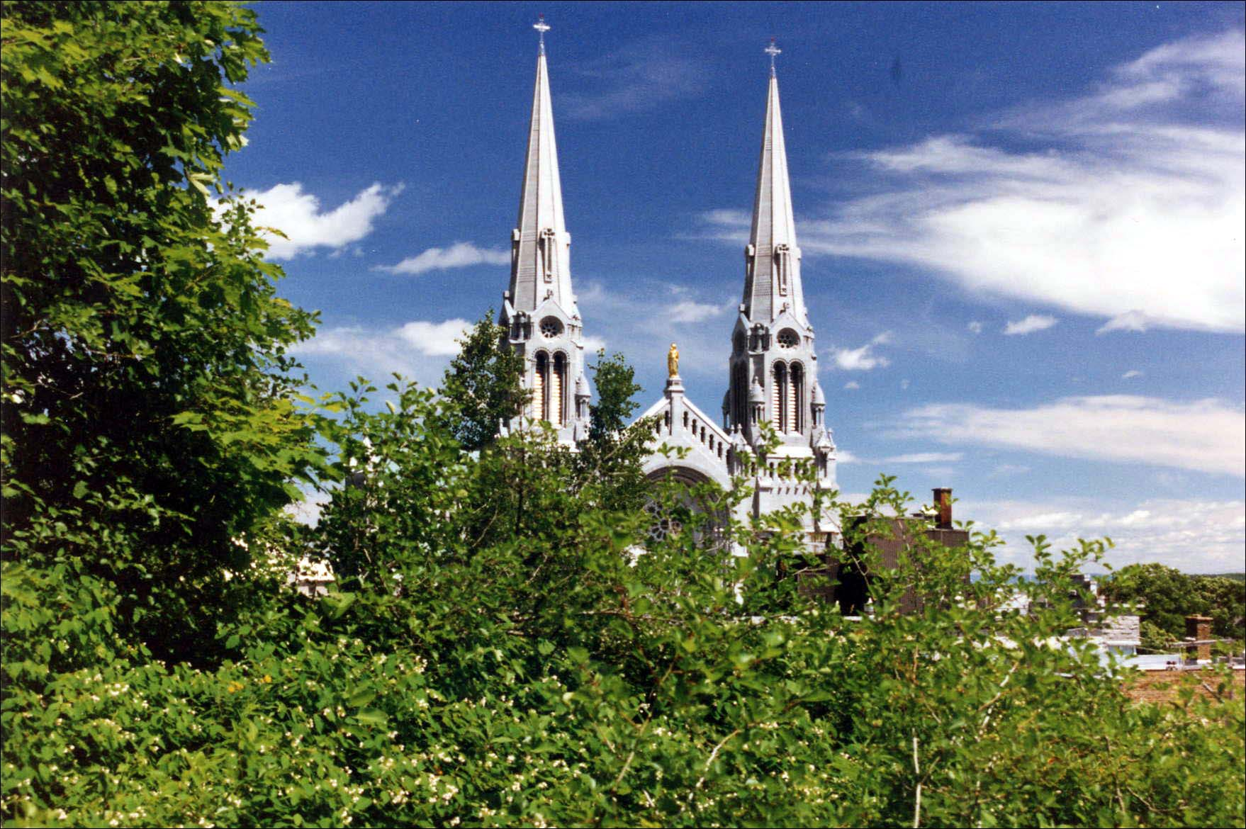 Basilica at Ste. Anne de Beaupré