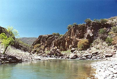 Huapoca Canyon